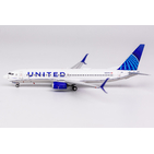 NG Model 1:400 United Airlines Boeing B737-800S 'New Colours' N26208 (NG58073)