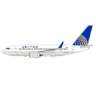 NG Model 1:400 United Airlines Boeing B737-700S N16732 (NG77001)