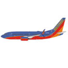 NG Model 1:400 Southwest Airlines Boeing B737-700S N252WN (NG77002)