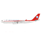 Panda Model 1:400 Sichuan Airlines Cargo Airbus A330-200F 'Delivery' B-308Q (PM19021)