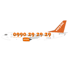 Panda Model 1:400 easyJet Boeing B737-300 'Call Us Direct' G-EZYA (PM19027)