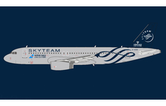 Panda Model 1:400 China Southern Airlines Airbus A320-200 'SkyTeam' B-1696 (PM202021)