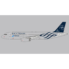 Panda Model 1:400 China Southern Airlines Airbus A320-200 'SkyTeam' B-1697 (PM202022)