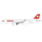 Panda Model 1:400 Swiss Airbus A320-200 NEO 'Delivery' HB-JDA (PM202024)