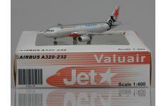 JC Wings 1:400 Jetstar Asia Airways Airbus A320-232 9V-JSD