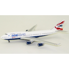 Phoenix Models 1:400 British Airways Boeing B747-400 'OneWorld' G-CIVZ (PH04349)