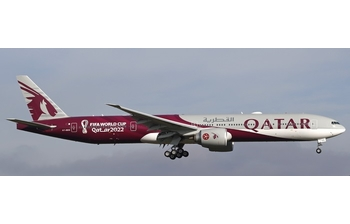 Phoenix Models 1:400 Qatar Airways Boeing B777-300(ER) 'FIFA World Cup Qatar 2022' A7-BEB (PH04370)