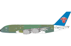 Phoenix Models 1:400 China Southern Airlines Airbus A380-800 'Bare Metal' F-WWAM (PH11671)