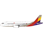 Phoenix Models 1:400 Asiana Airlines Airbus A320-200 HL7737 (PH11684)